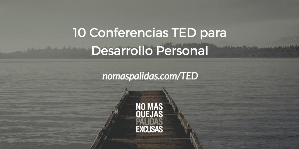 Diez charlas TED para desarrollo personal